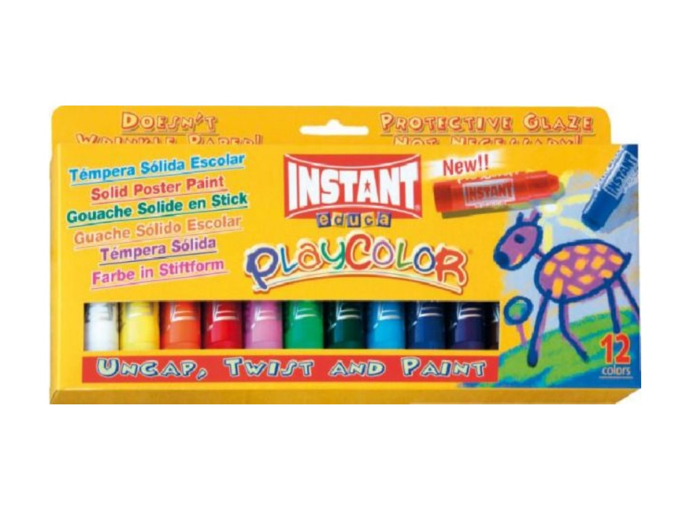Tempera solida Playcolor