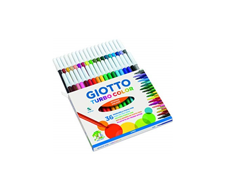 Giotto Turbo Color 36 pennarelli
