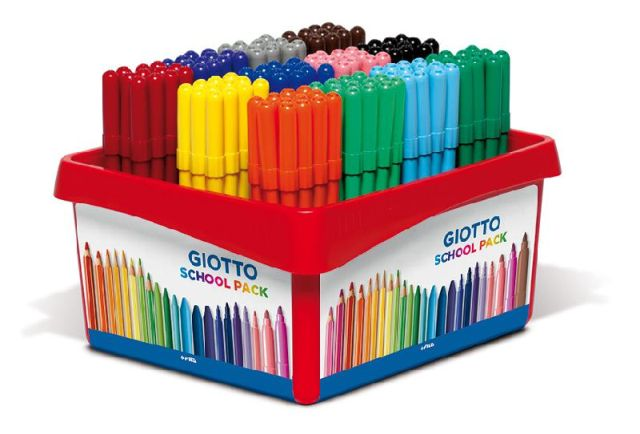 Schoolpack pennarelli Giotto Turbo Color