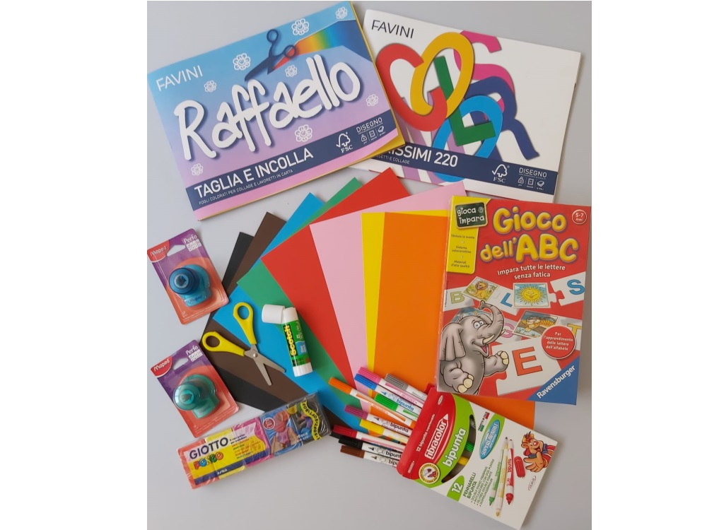 Kit cancelleria - Set infanzia 1