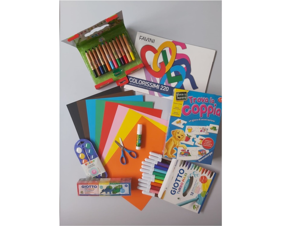 Kit cancelleria - Set infanzia 2